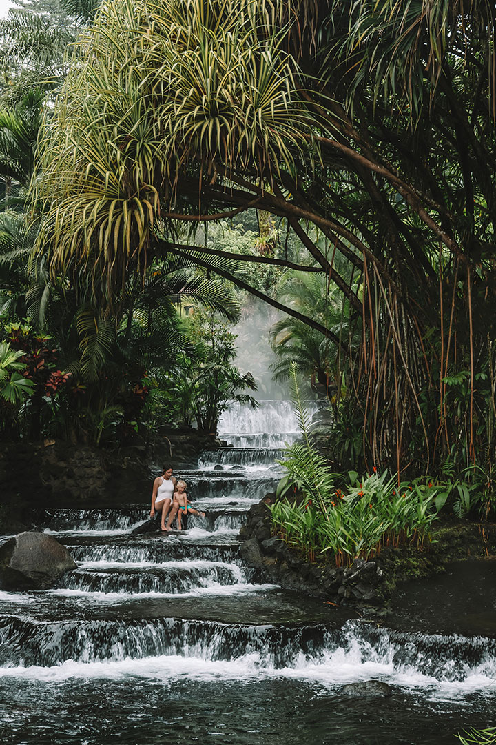 Tabacon Hot Springs in La Fortuna, Costa Rica | 9 amazing things to do in La Fortuna