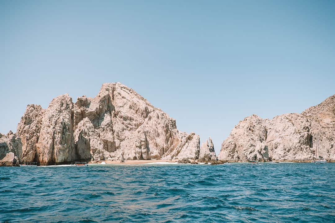 Lover's Beach in Cabo San Lucas, Mexico