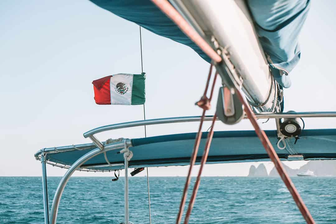 Sunset sail tour with Cabo Adventures