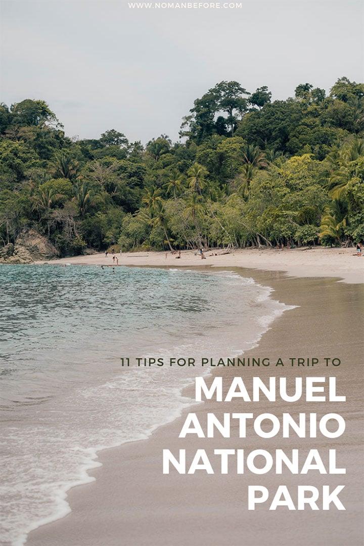 11 Tips for Visiting Manuel Antonio National Park in Costa Rica | #costarica #travel #manuelantonio