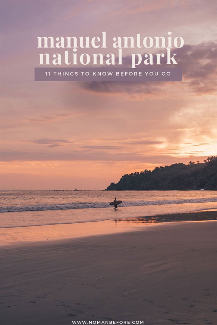 11 Tips for Visiting Manuel Antonio National Park in Costa Rica | #costarica