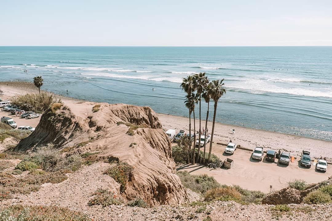 San Onofre State Beach near San Clemente, California