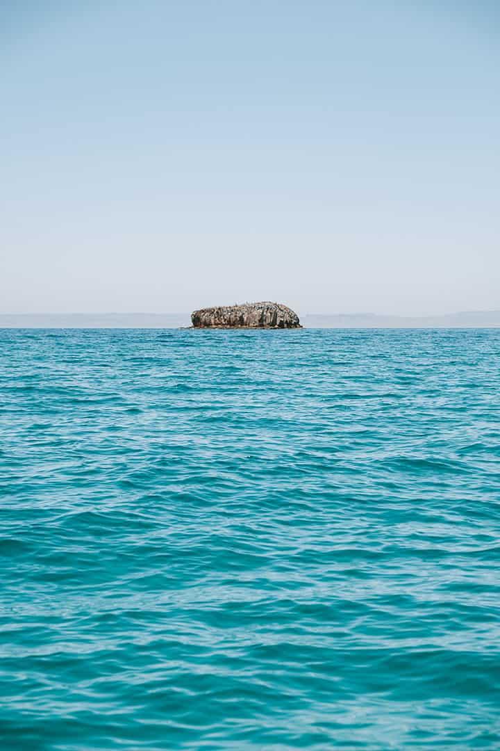 Islands near La Paz, Mexico