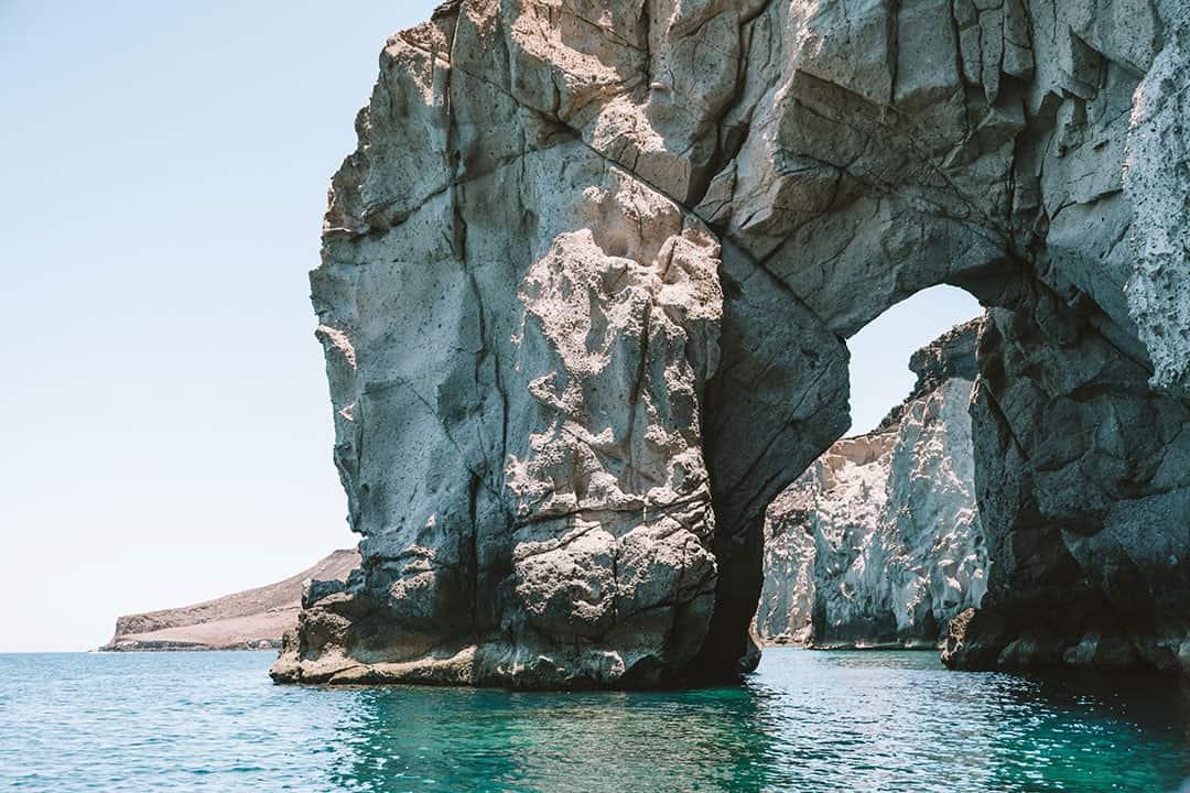 Rock arch at Isla Espiritu Santo