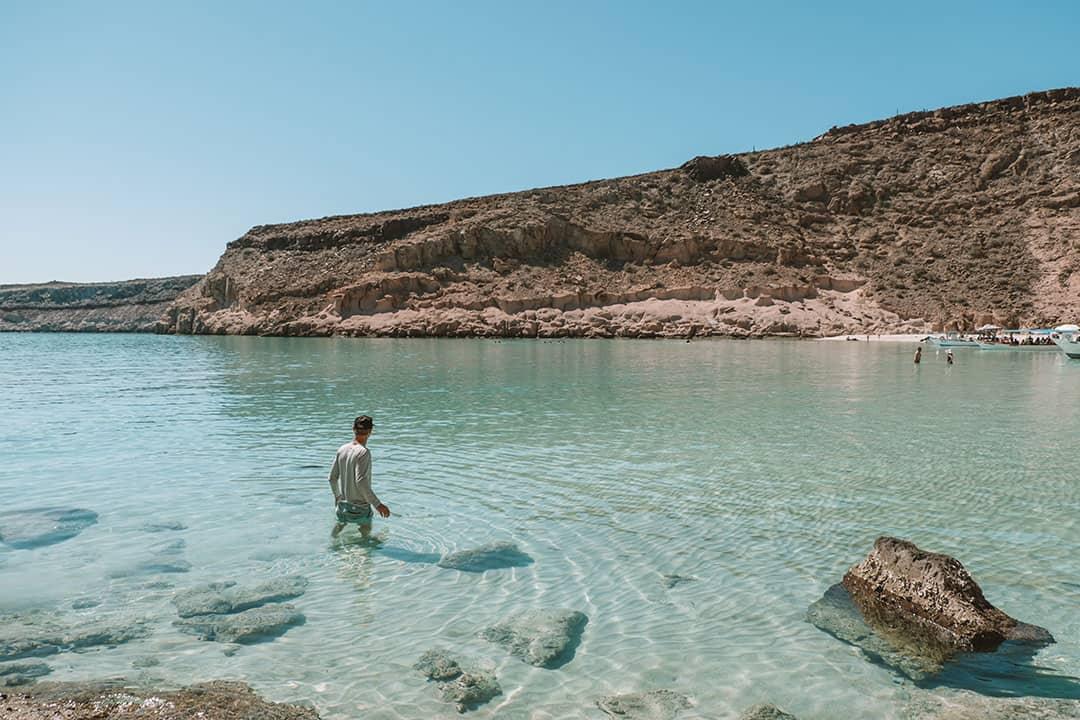 Playa Ensanada Grande at Isla Partida Mexico
