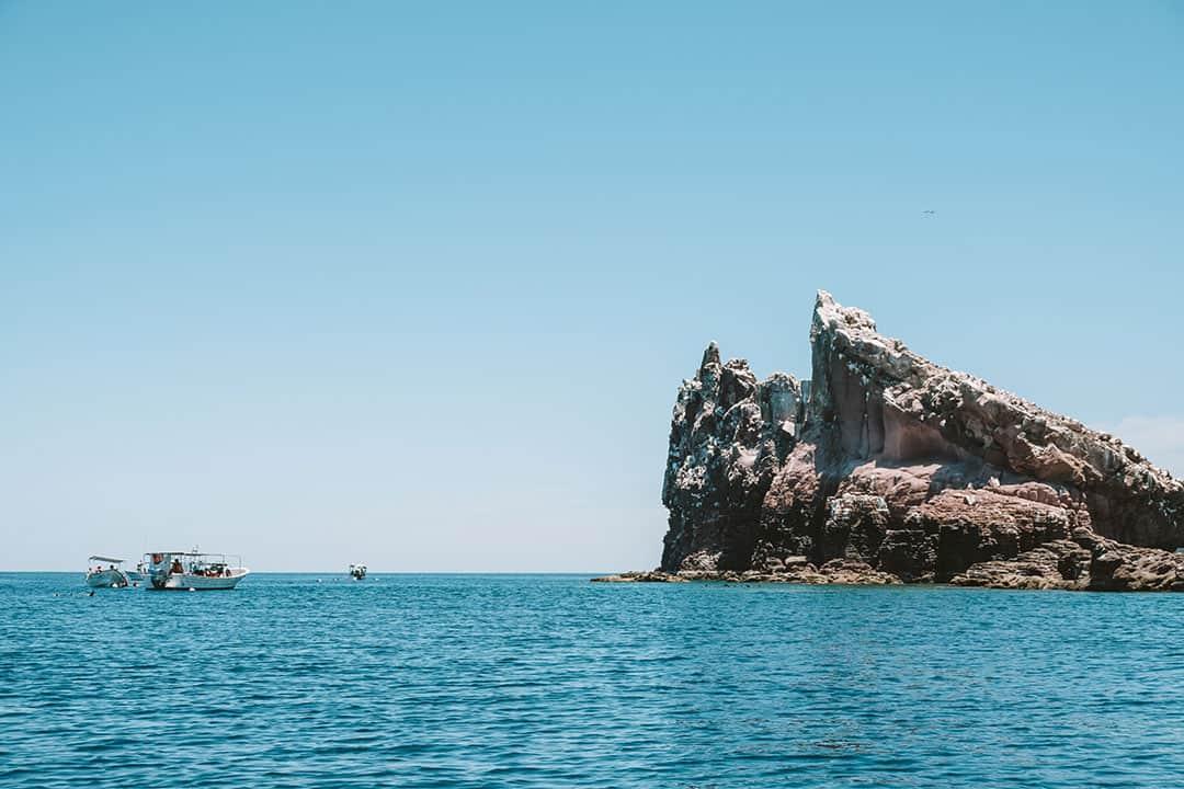 Los Islotes near La Paz, Mexico