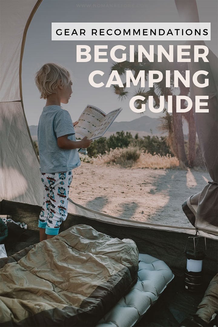 Planning a weekend camping but not sure what gear you need? Check out this beginner's guide to camping gear. We've rounded up a list of camping essentials that includes both budget and better options. #camping #campinggear #campingsupplies
