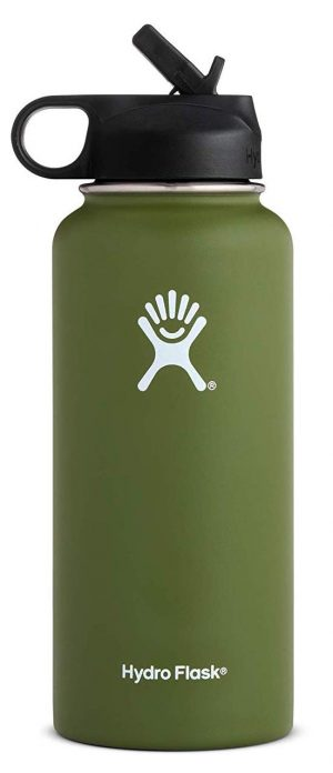Hydro Flask stainless-steel vacuum insulated water bottle