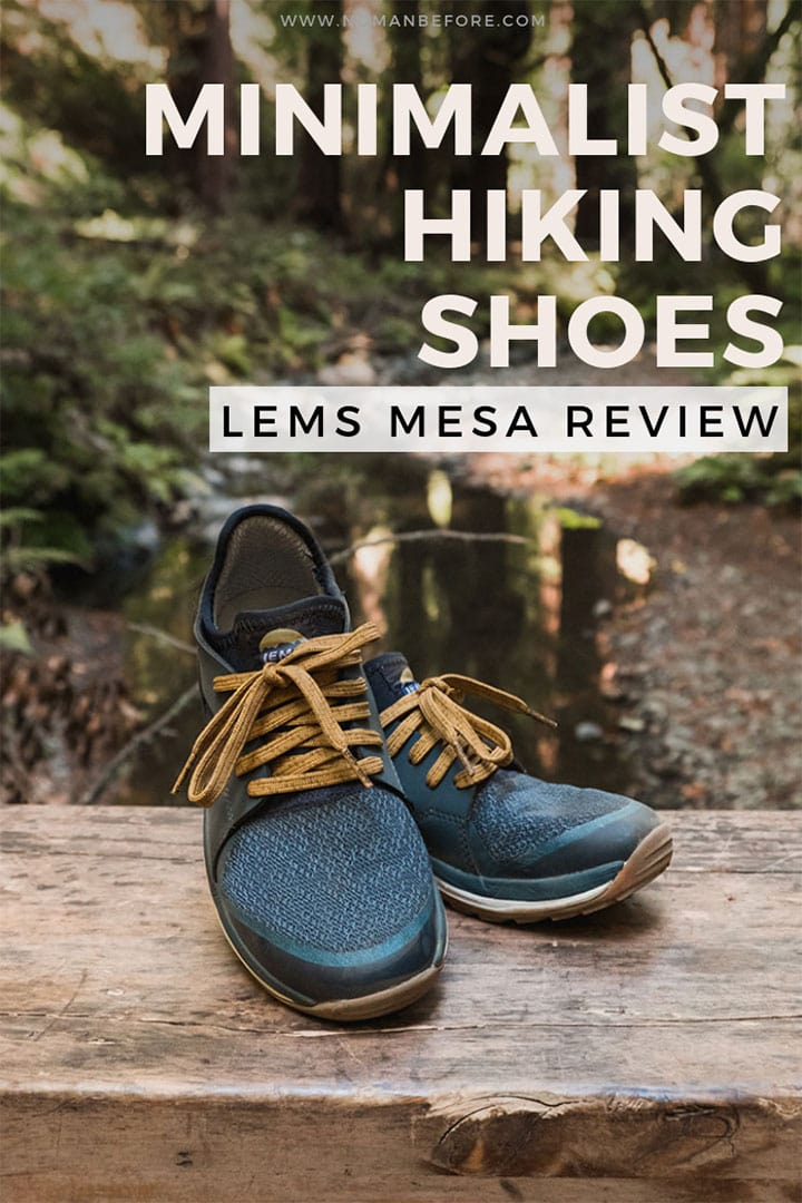 Searching for a versatile, minimalist hiking shoe that's perfect for adventures both at home and on the road? Then look no further than the Lems Mesa. #minimalistshoes #minimalisthikingshoes