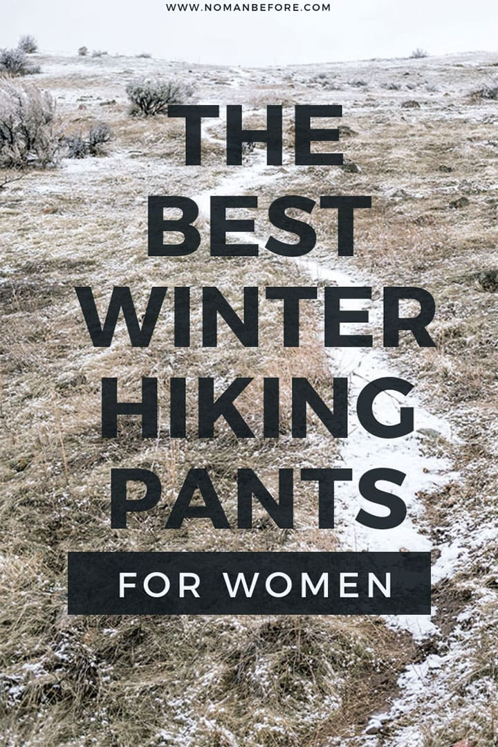 Winter Hiking Pants for Women
