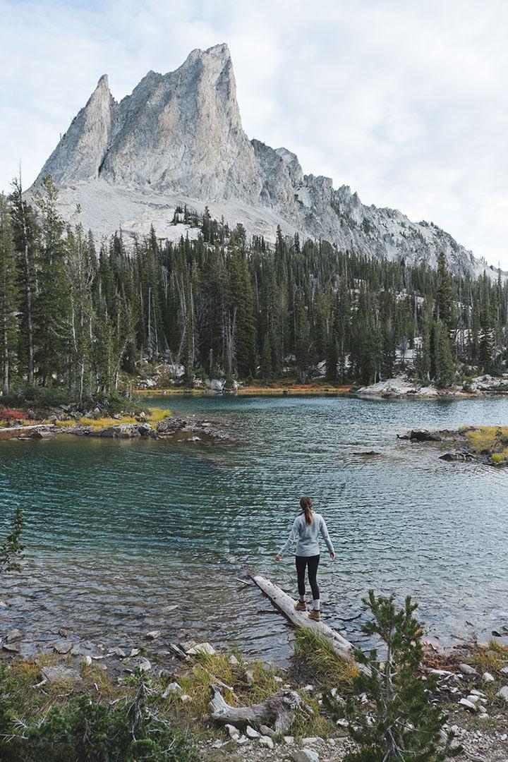 El Capitan at Alice Lake, Idaho