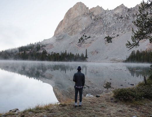 Alice Lake in Idaho's Sawtooth Mountains