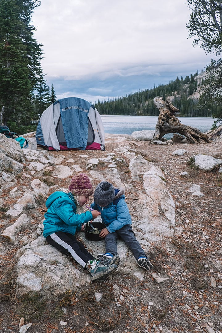 Backcountry camping gear you'll need at Alice Lake, Idaho