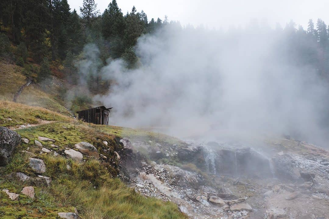 Bonneville Hot Springs in Idaho