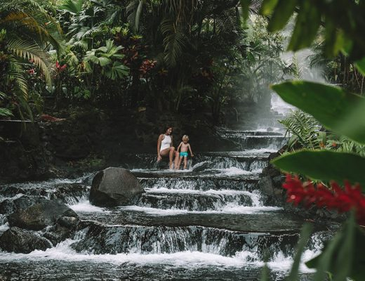 Tabacon Hot Springs in La Fortuna, Costa Rica