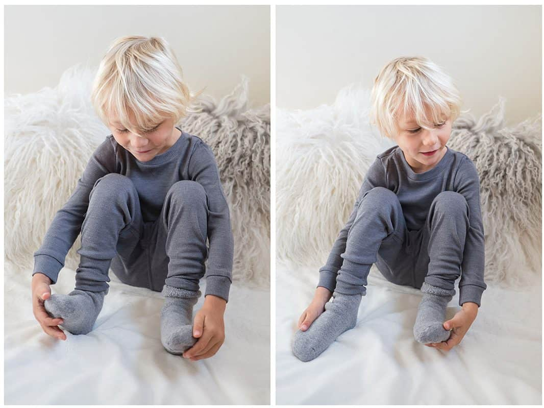 Nui Organics Merino Wool thermals for kids