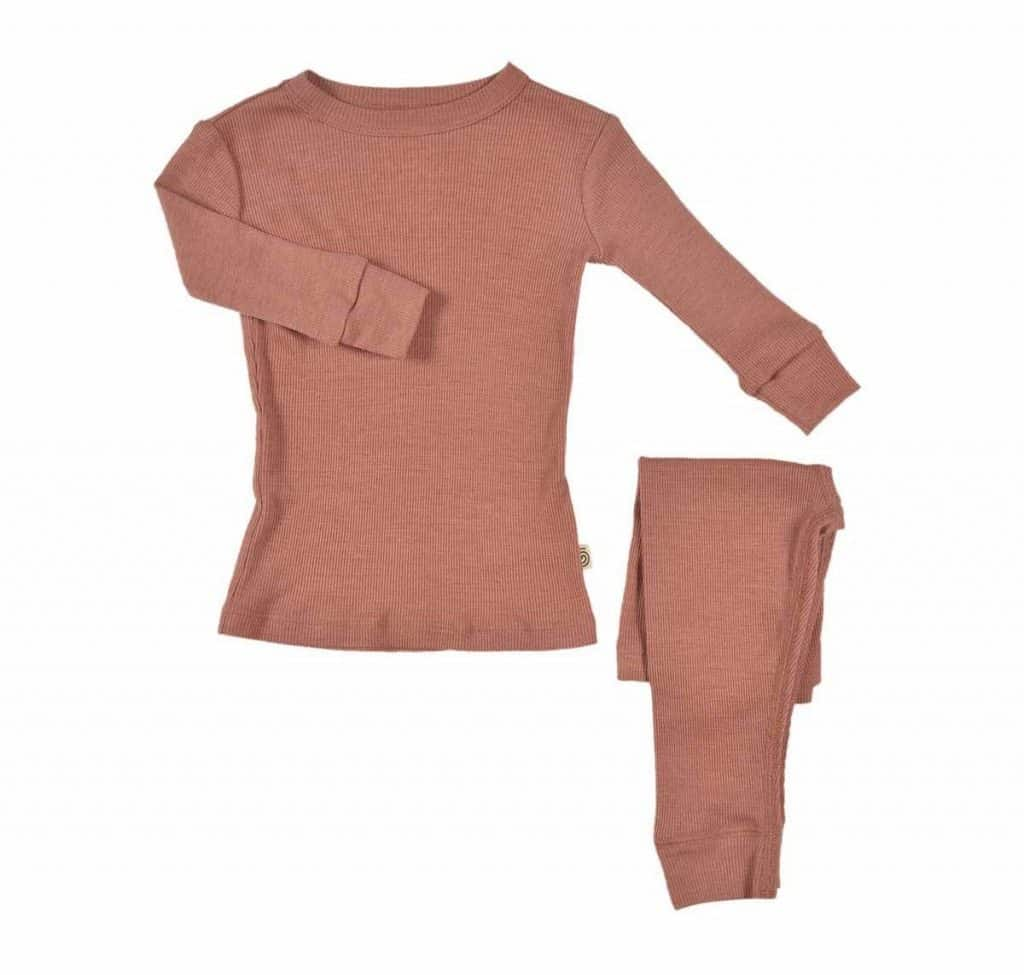 Nui Organics Merino Silk Thermals for Kids and babies