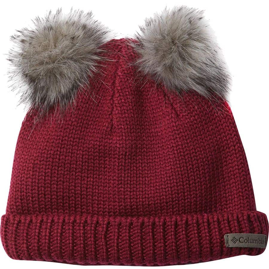 Pom pom beanie for kids
