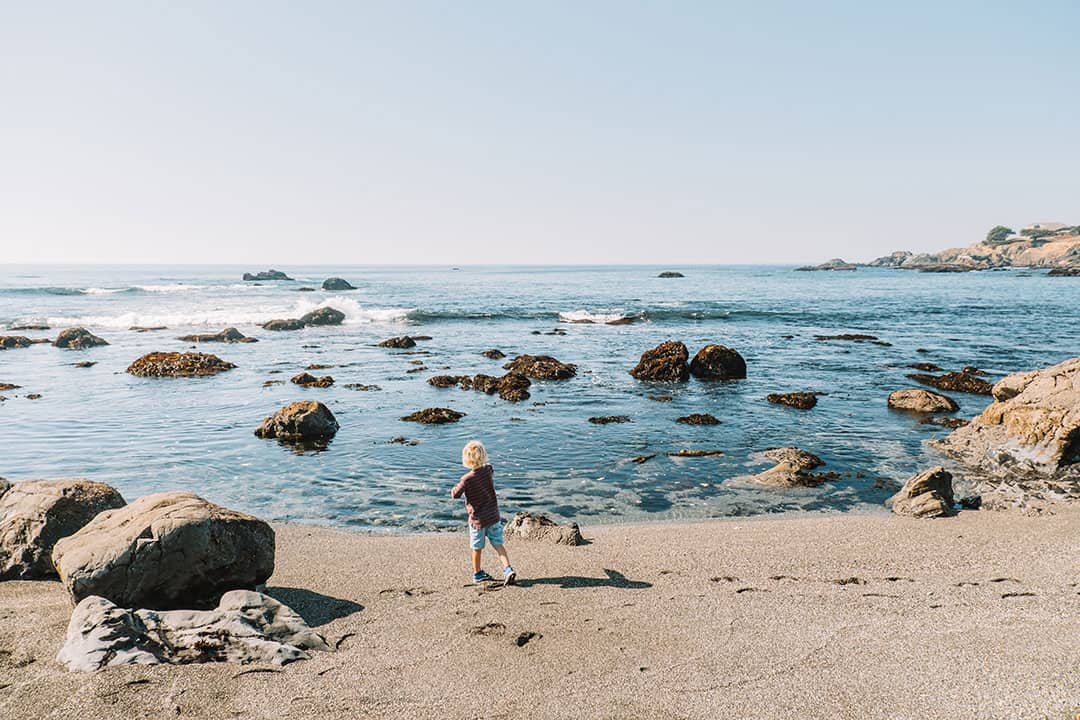 Pebble Beach at Sea Ranch, California
