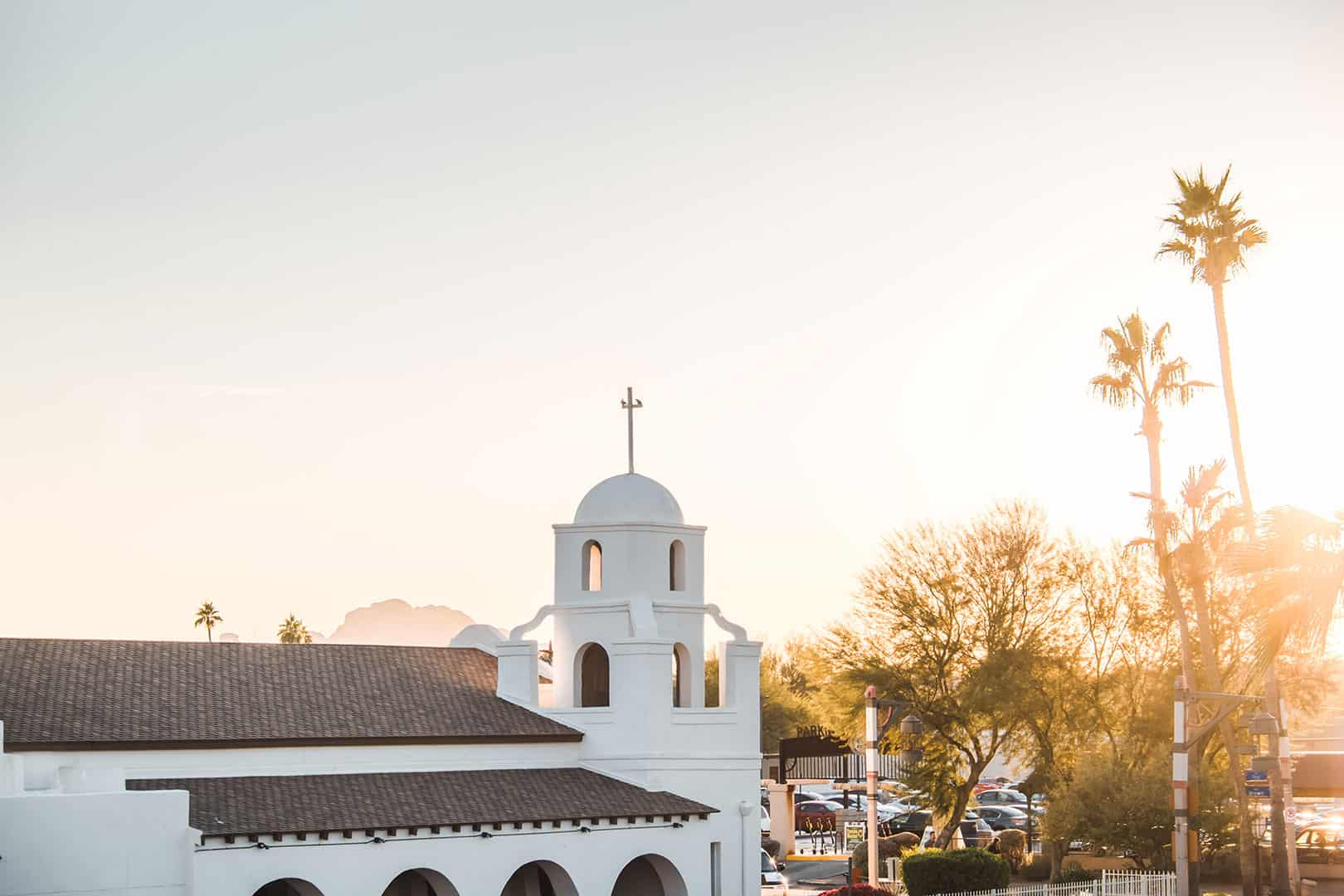 The Mission in downtown Scottsdale, Arizona
