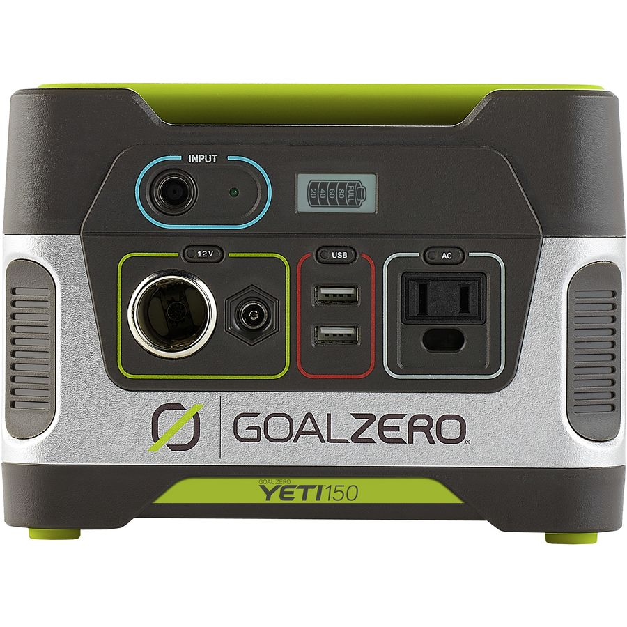 Cool Camping Gifts: Goal Zero Yeti 150 Solar Generator