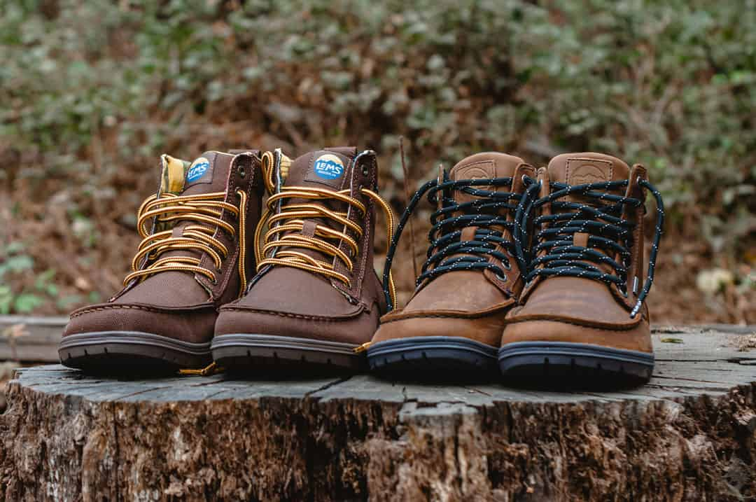 Minimalist winter boots by Lems