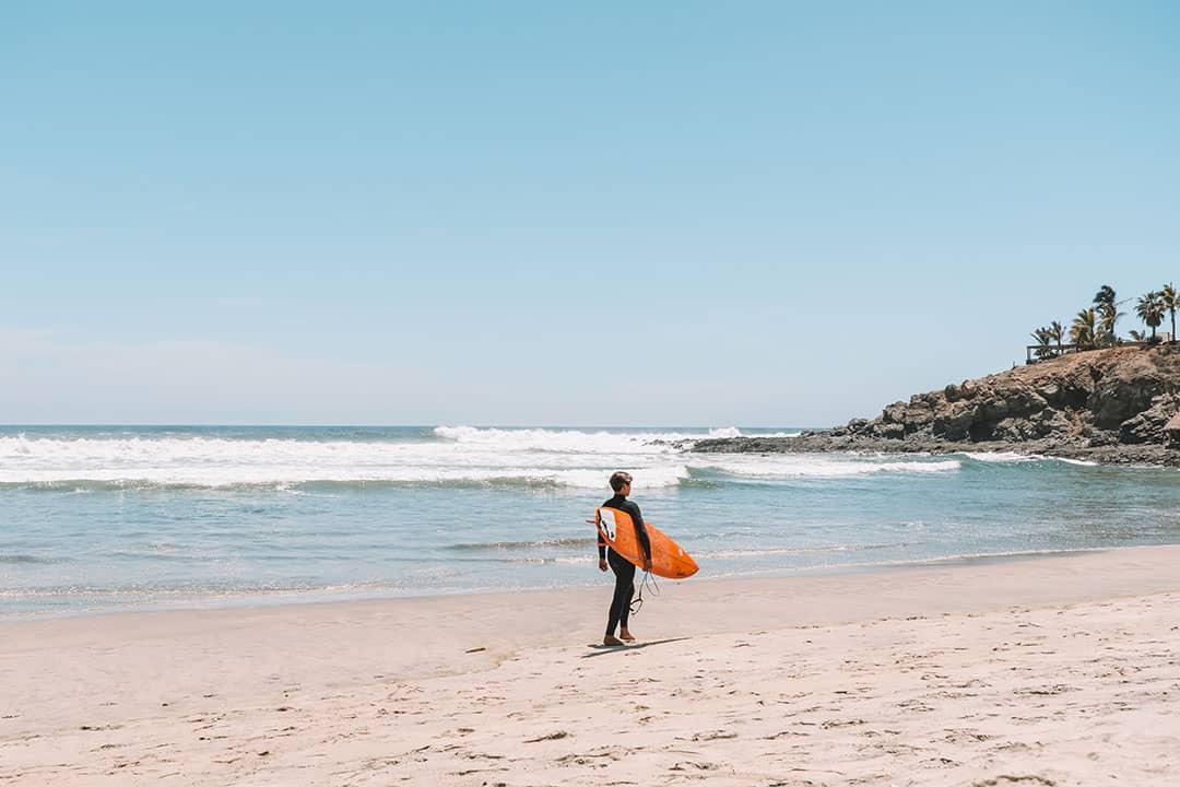 Playa Los Cerritos, Where to Surf in Todos Santos, Mexico