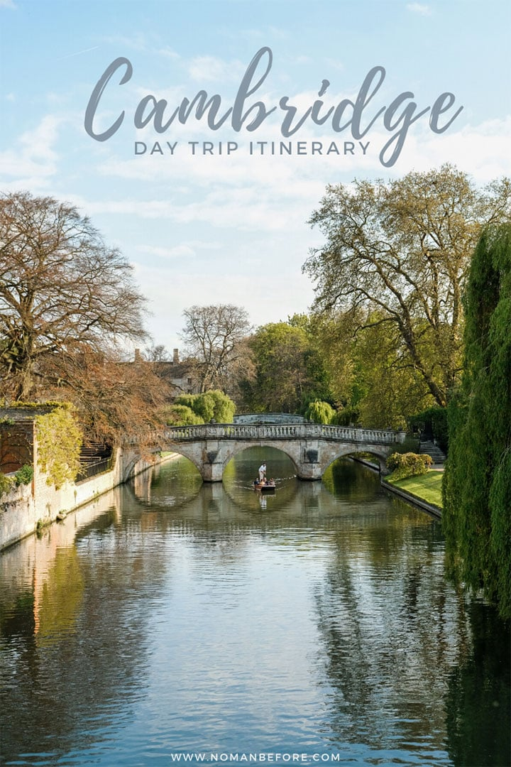 Cambridge Day Trip Itinerary | Cambridge is one of the best day trips you can take from London, England. This insider's guide includes everything you need to know to plan an amazing day in this historic university town. Go punting along the college backs, explore beautiful college grounds, and attend evensong in King's College Chapel.