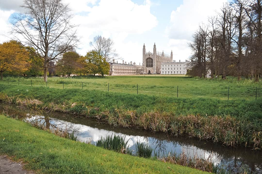 King's College from the Backs | A day trip to Cambridge, England