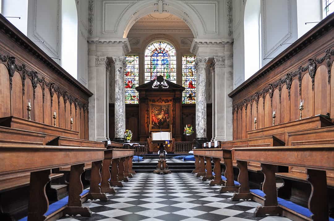 Pembroke Chapel at Cambridge University