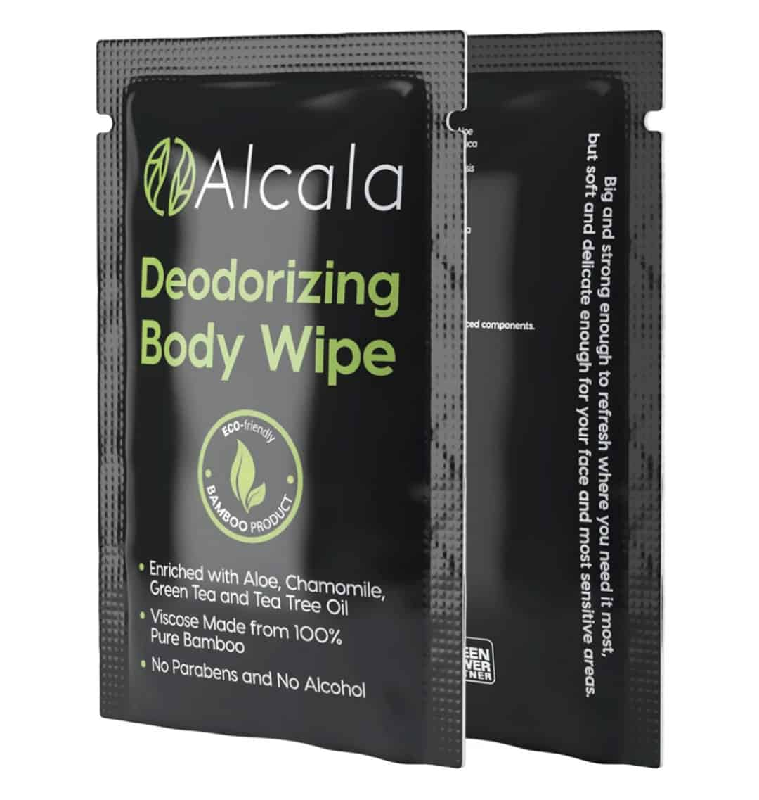 Alcala Biodegradable Wipes for Camping