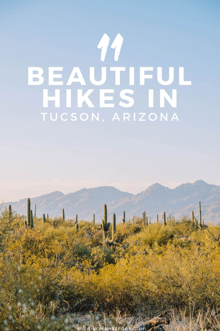 11 Beautiful Hikes in Tucson, Arizona | Lace up your hiking shoes and get ready to hit these amazing Tucson hiking trails. With stunning desert landscapes, a national park, and four mountain ranges, there's so many great hikes in Tucson, Arizona to choose from.