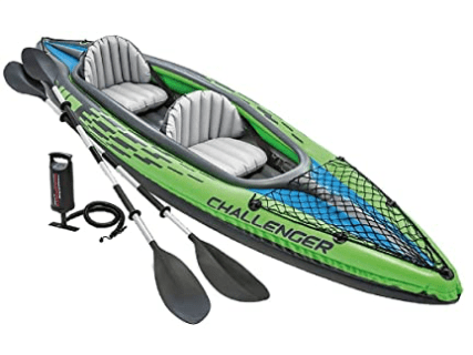 Intex Challenger K2 Inflatable Tandem kayak