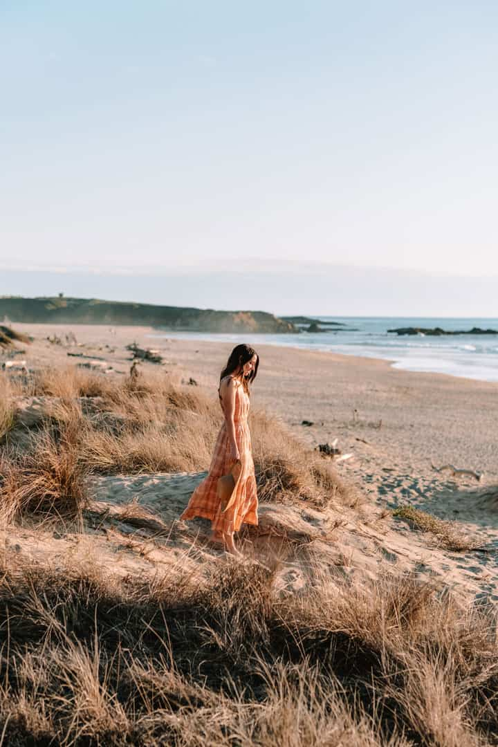 Maxi dress from Toad & Co, a sustainable outdoor clothing brand