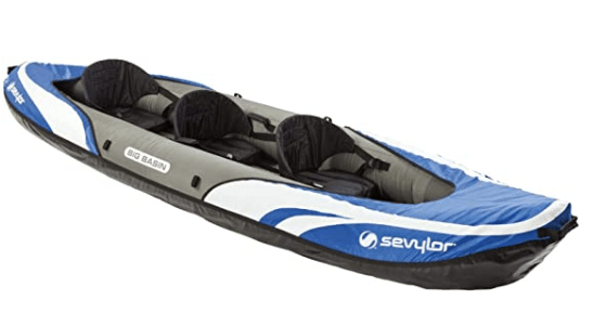 Selcylor 3 Person Inflatable Kayak