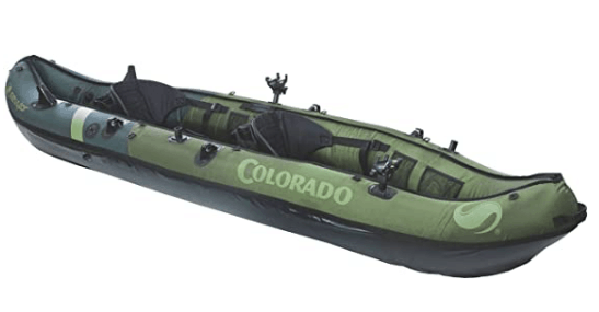 Sevylor Coleman Colorado Tandem Inflatable Fishing Kayak