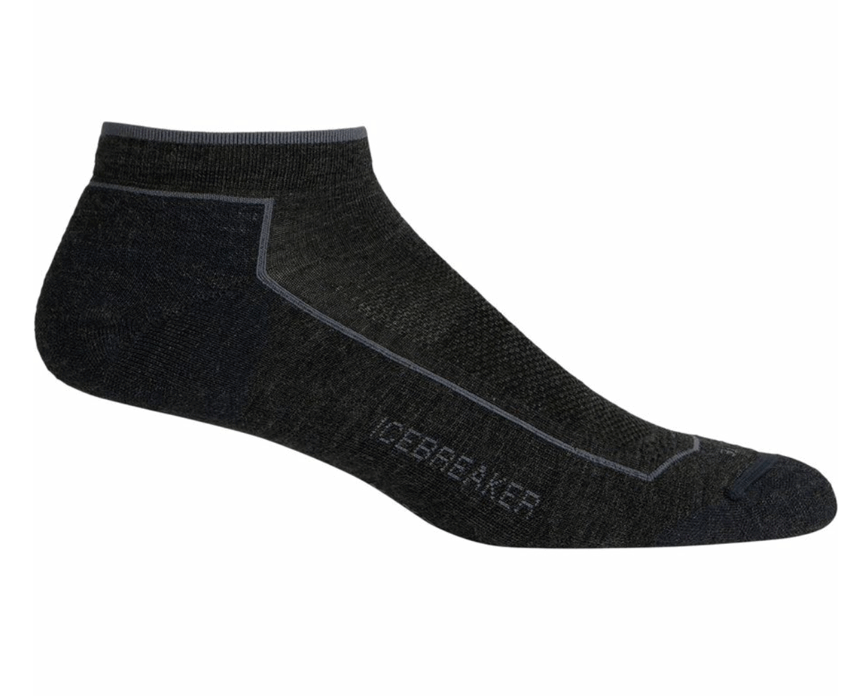 Icebreaker lightweight merino wool socks for summer hiking