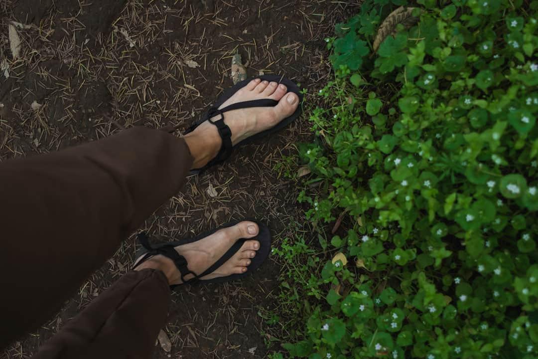 Unshoes Wakova Feather, Barefoot running sandals