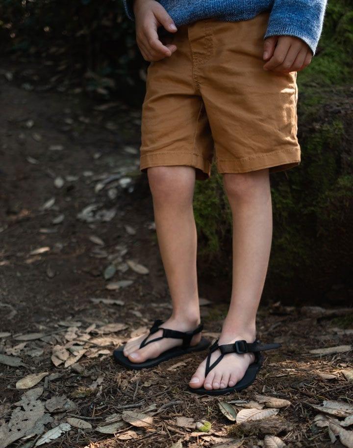 Unshoes Keota, Kids Barefoot Sandals