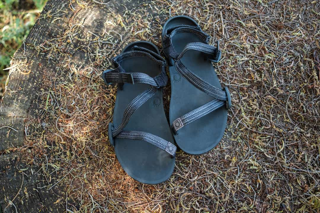 Xero Shoes Z Trail Sandals, one of the best minimalist hiking sandals
