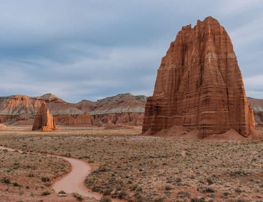 Drive the Cathedral Valley Loop in Capitol Reef National Park