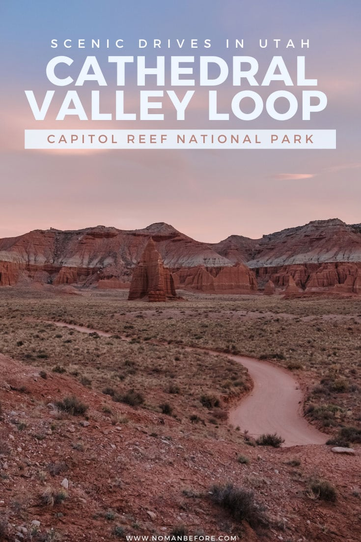Take the scenic route. Drive the dusty backcountry Cathedral Valley Loop through Capitol Reef National Park for the most impressive views in the park.