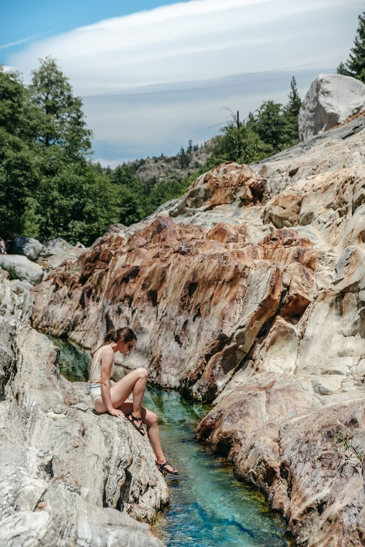 Emerald Pools at the Yuba River