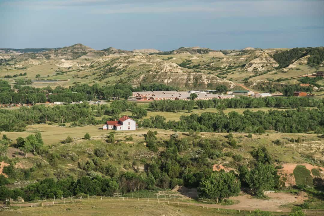The town of Medora, North Dakota