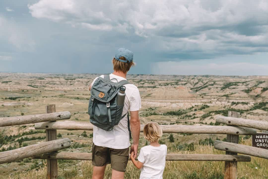Painted Canyon Lookout in Theodore Roosevelt National Park