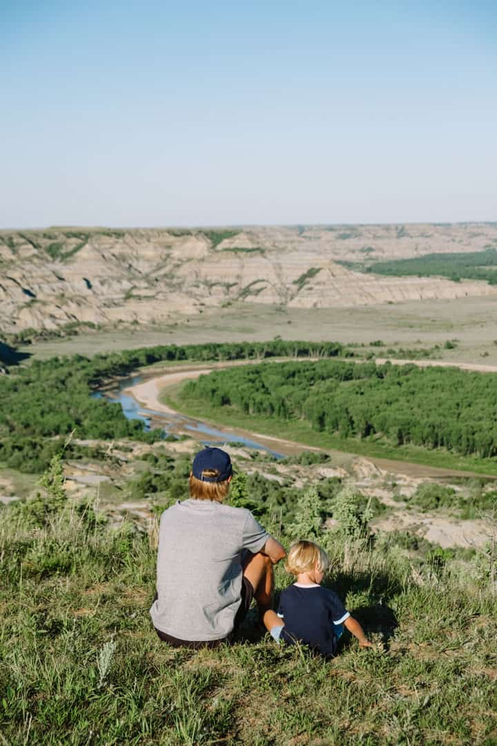Sperati Point in North Unit of Theodore Roosevelt National Park