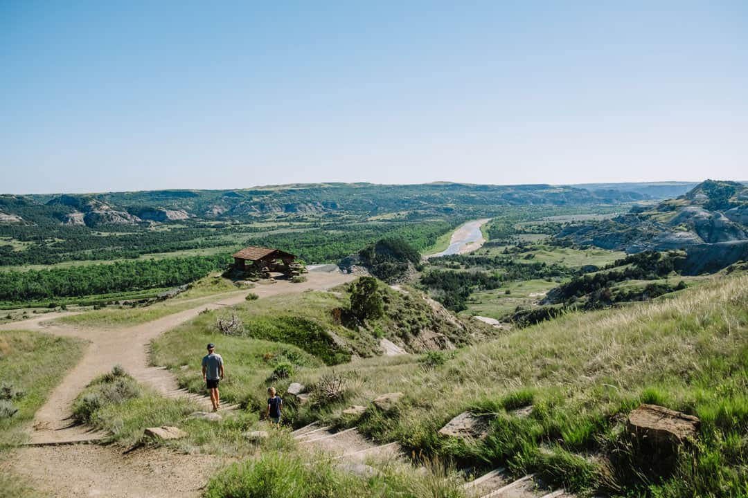 River Bend Overlook in Theodore Roosevelt National Park