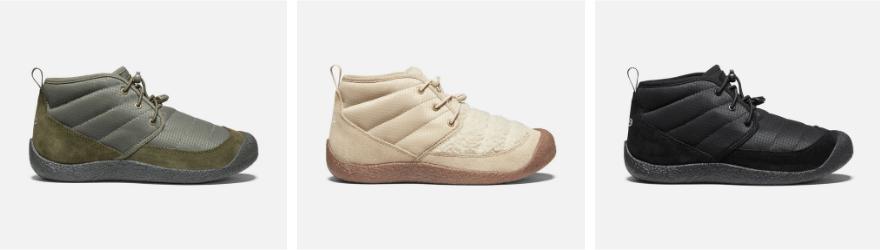 KEEN Howser Chukkas make great indoor and outdoor slippers
