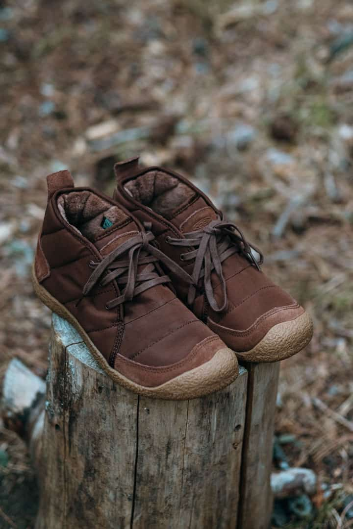 KEEN Howser Chukkas make the perfect camping slippers