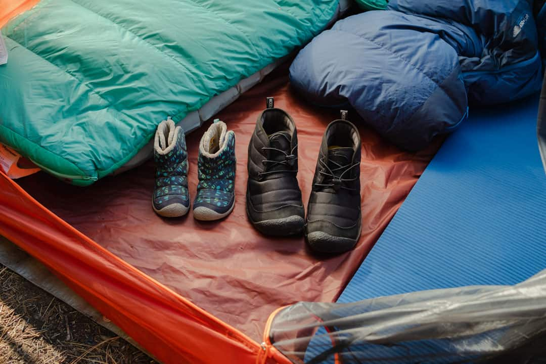 KEEN camping slippers